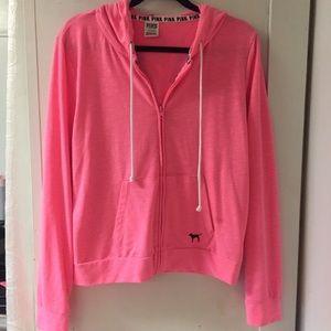Vs neon pink PINK hoodie